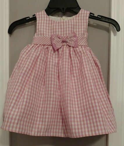 Good Lad Apparel Pink//White Dress Girls 18 Month Fancy Dress