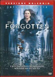 The-Forgotten-DVD-Rent-Nuovo-Sigillato-Julianne-Moore
