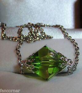Smallville-pendentif-lana-lang-kryptonite-verte-lana-lang-green-necklace