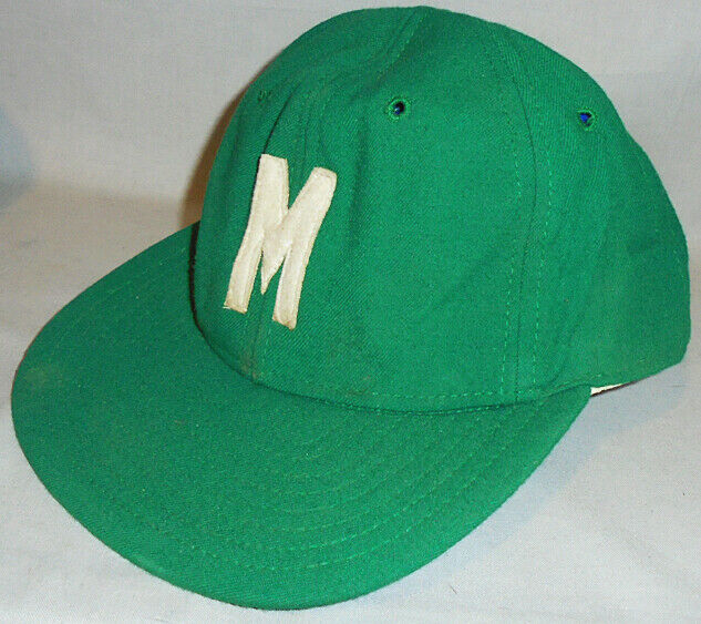 -Rare- 1950's -Mogadore, OH- Vintage New Era High School Football Wool Hat/Cap