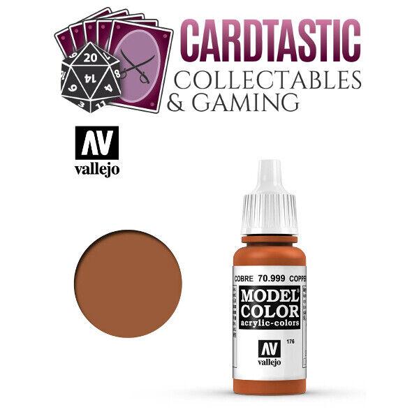Vallejo Model Color Paint 17mL Copper 70.999