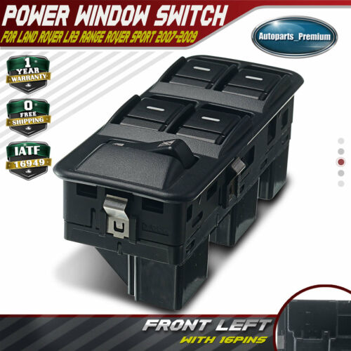 Power Window Switch for Land Rover LR3 Range Rover Sport 2007-2009 YUD501570PVJ
