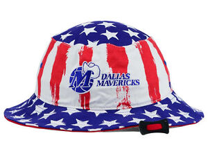 Dallas Mavericks 47 Brand NBA Log Cabin Bucket Floppy Beach Sun Hat ... 4d021ec8b715
