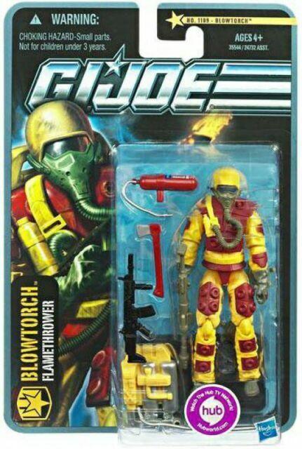 GI Joe Weapon Arctic Snake Eyes PICK 2010 POC Original Figure Accessory