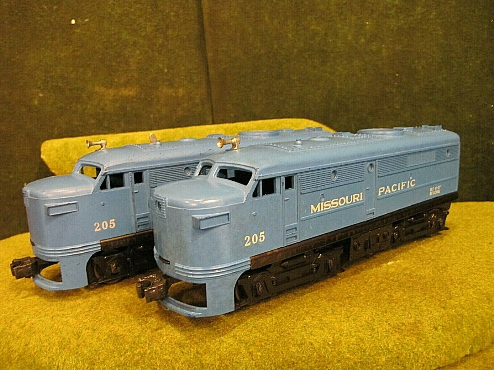 LIONEL 205 MISSOURI PACIFIC ALCO AA Alcos tested and Laufen