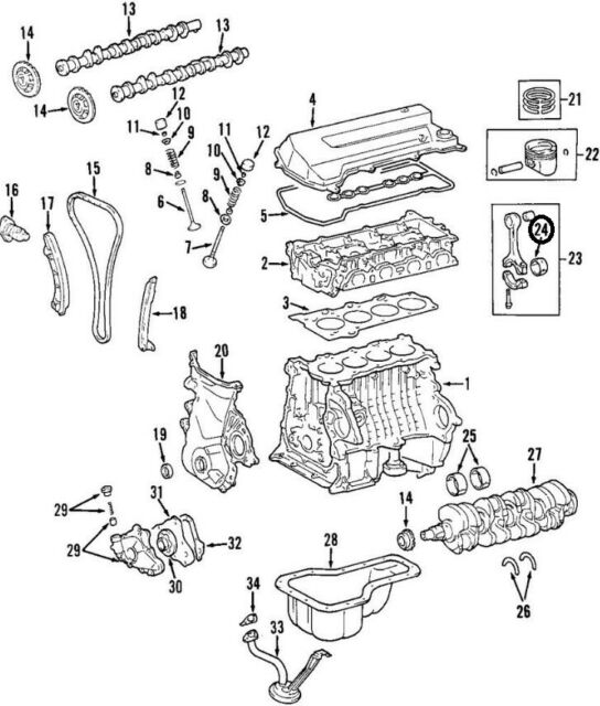 98 Corolla Engine Diagram