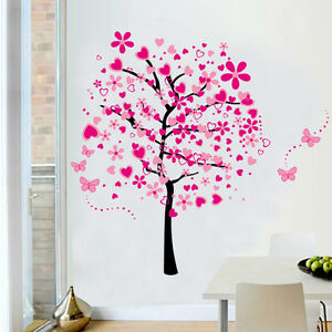 175-160cm-Large-Removable-Wall-Stickers-Home-Nursery-Decor-Children-Decal-Tree