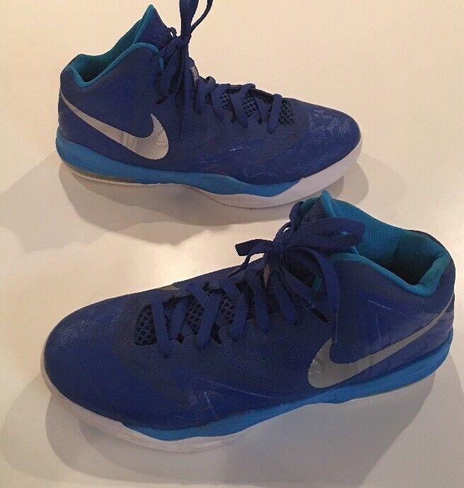 d3d15a5e99868 Nike Max Air Blue Basketball Basketball Basketball Shoes Men s Size 10.5  3fbc2d ...
