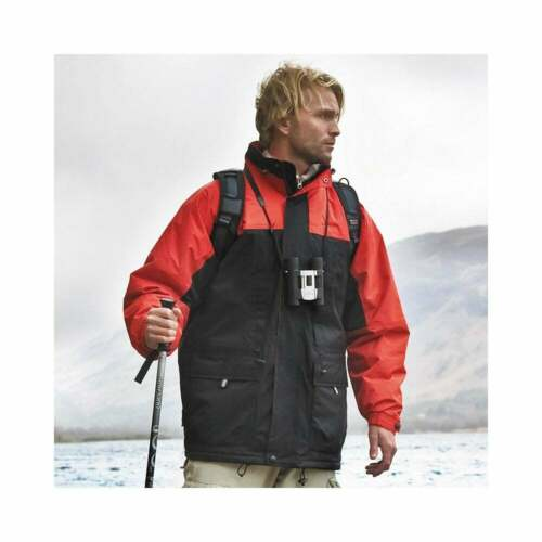 Result Mens Multi-function winter jacket Medium Black//red SALE RRP £70