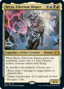 Breya, Etherium Shaper x1 Magic the Gathering 1x Double Masters mtg card