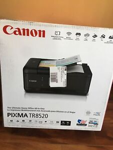 Details about Canon PIXMA TR8520 Wireless All in One Printer Mobile  Printing Photo Airprint