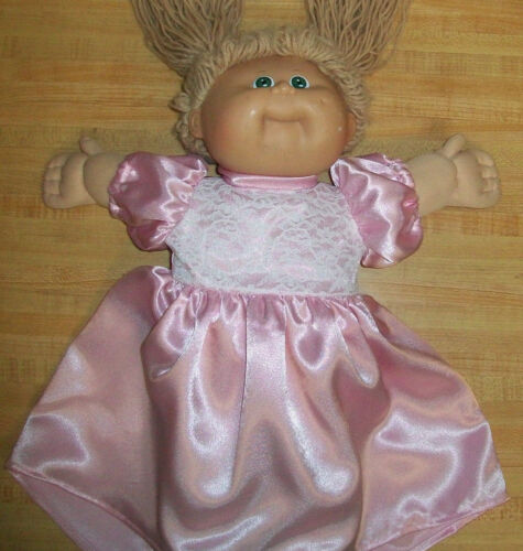 "BRIDE BRIDESMAID DRESS BALLGOWN LIGHT PINK for 16-18/"" CPK Cabbage Patch Kids"