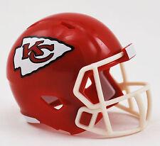 NEW NFL American Football Riddell SPEED Pocket Pro Helmet KANSAS CITY CHIEFS