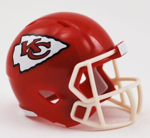 KANSAS CITY CHIEFS NFL RIDDELL MINI SPEED POCKET PRO HELMET LOOSE