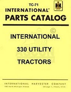 International-330-Utility-Parts-Catalog-Manual-IH