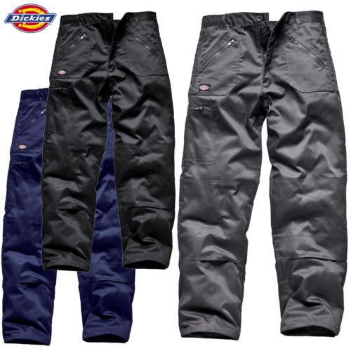 Dickies Redhawk Azione Pantaloni Tasche Con Zip Knee Lavoro Cargo Combat Workwear