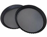 Attmu Non-stick 8 Inches Removable Loose Bottom Quiche Pan, Tart Pie Pan, Round on sale