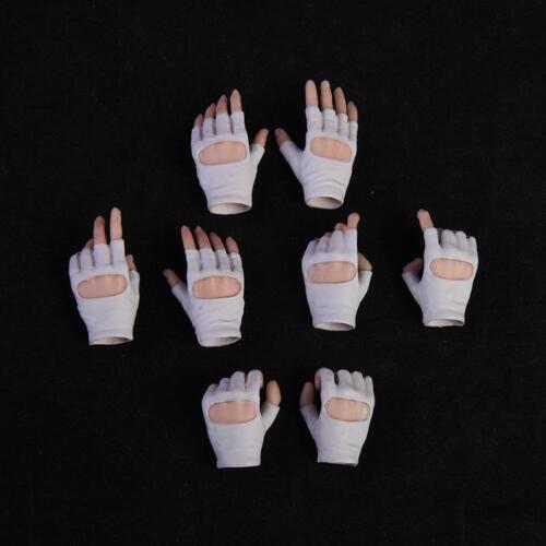 VStoys 1//6 Gloves Hand White Grip Gun Hand Model Suntan Skin F PHICEN TBleague