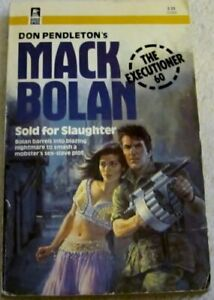 Mack Bolan : Sold for Slaughter by Marton, Sandra Paperback Book The Fast Free