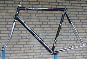 Vintage-NOS-NEW-Belgian-Diamant-Columbus-Thron-O-S-bicycle-frame-frameset-57-5c