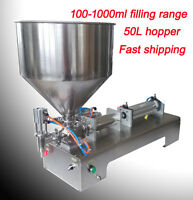Automatic Filling Machine 100-1000ml Single Head For Cream Shampoo Cosmetic