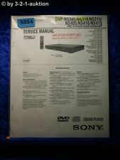 Sony Service Manual DVP ns305 ns310 ns315 ns405 ns410 ns415 (#5884)