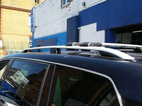 Mercedes Vito Viano W639 Abschließbar Aluminium Dachträger Stange Cross 2003 Auf