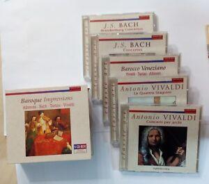 70741-CD-musicale-Baroque-Impressions-5-CD-Albinoni-Bach-Tartini-Vivaldi