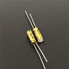 2 pcs Nichicon Muse FG  Fine Gold  UFG1H100MDM 10uF 50V 85°C 5x11mm RM2  NEW