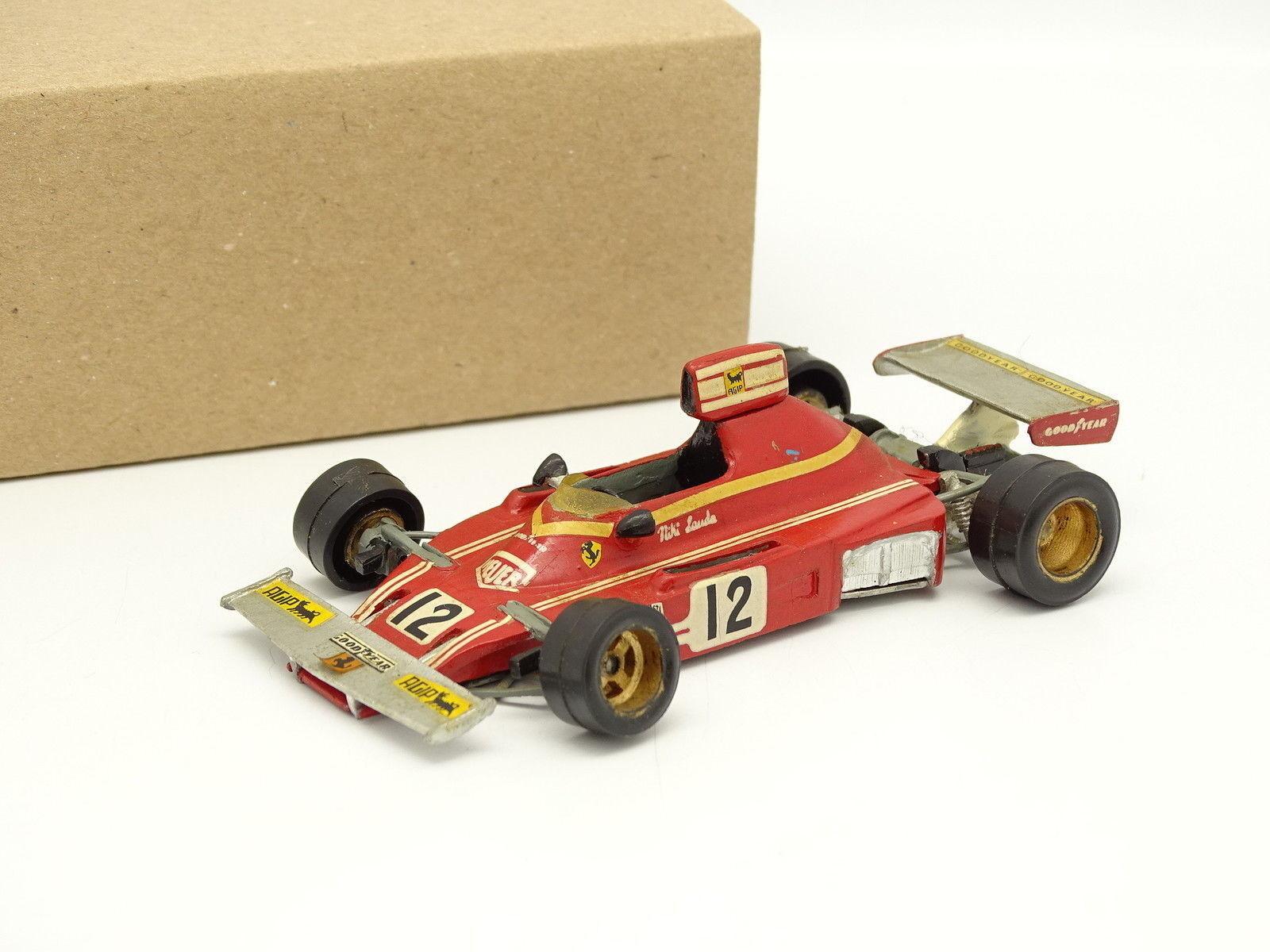 Set Metall Aufgebaut 1 43 - F1 Ferrari 312 312 312 B3 1974 Lauda b07589