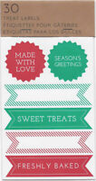 Christmas Holiday Treat Labels From Crate & Barrel 036 -