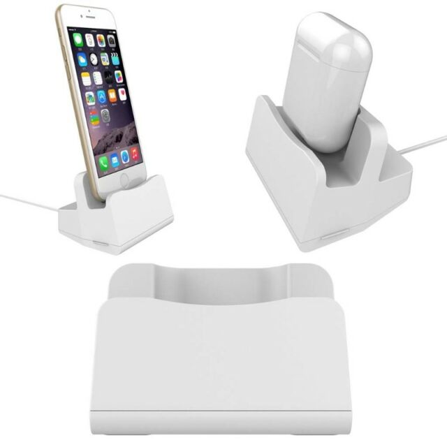 DIY Desktop Charging Stand Cradle Charger Dock For Airpod iPhone 5 6 7 8 Plus X