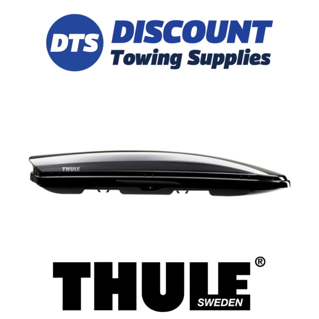 Thule Dynamic 800 Black Glossy Roof Box 6128b For Sale Ebay