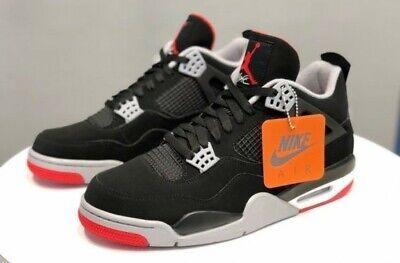Nike Jordan 4 Bred Men's 10.5 OG Red