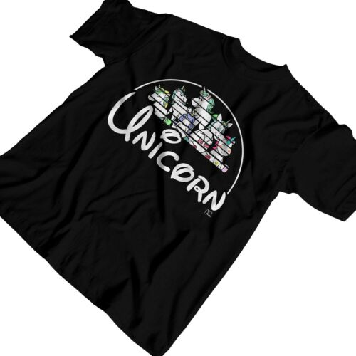 1Tee Mens Unicorn T-Shirt Clothing, Shoes & Accessories