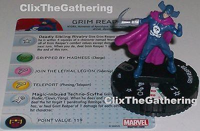 Heroclix Age of Ultron set Grim Reaper #037 Rare figure w//card!
