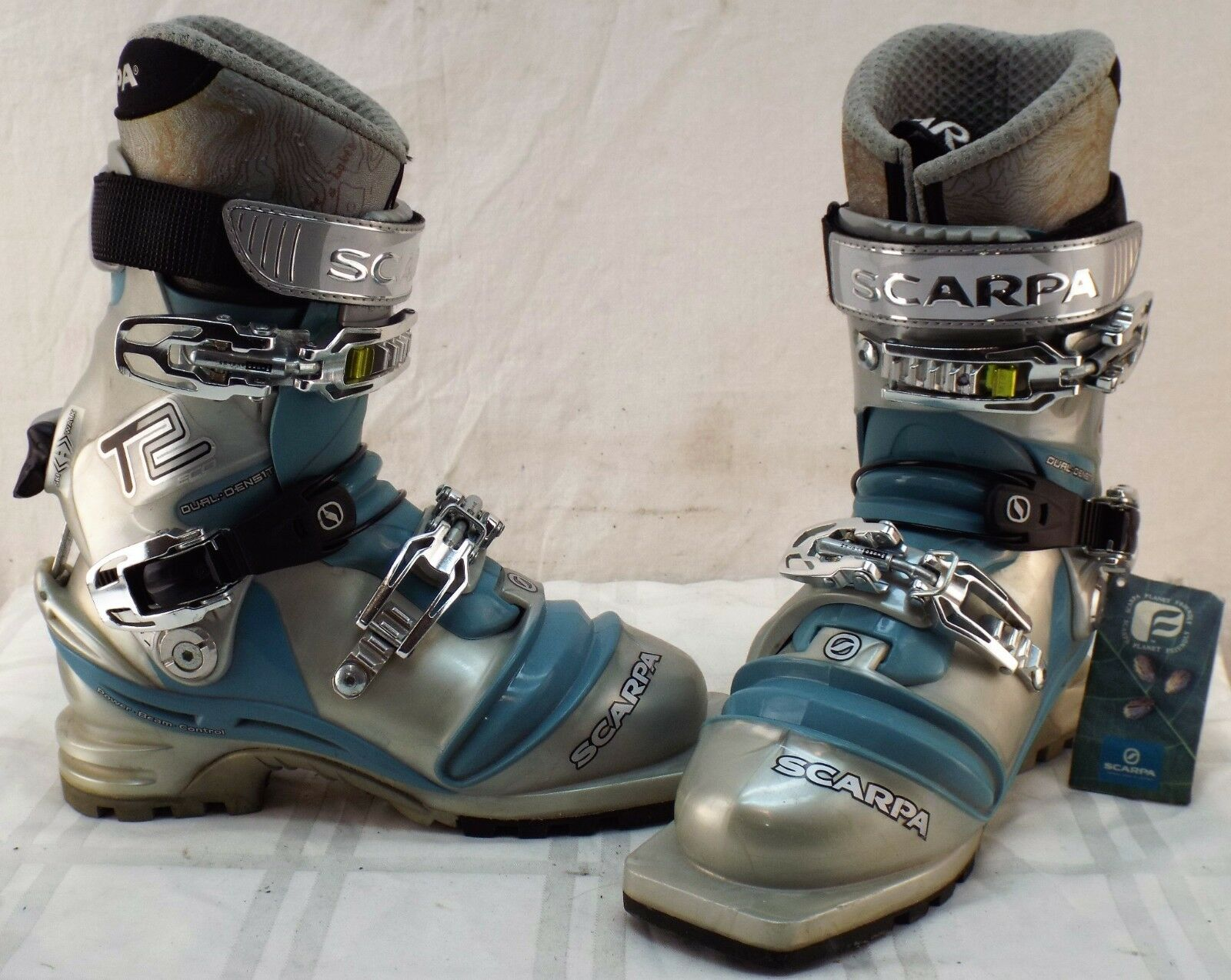Scarpa T2  Eco New Women's Telemark Boots Size 22.5  more affordable
