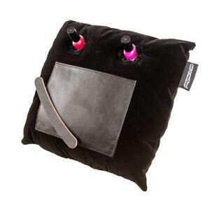 Coz-E Black Velvet Nailbar Manicure Cushion Nail Varnish Painting Holder Laptray