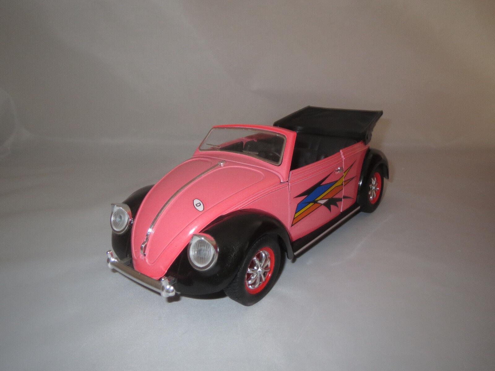Solido volkswagen coccinelle cabriolet  rose noir  1 17 sans emballage