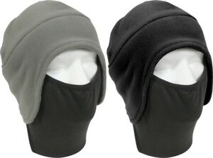 Image is loading Polar-Fleece-Winter-Beanie-Cap-Hat-with-Face- bcc2cdfea04