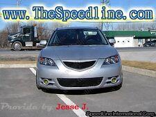 04 05 06 Mazda3 Sedan S-type Grill Mazda 3 JDM Axela Emblemless 4D OPEN Grille