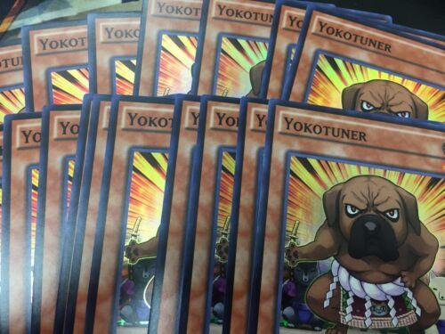 Super Rare NM YUGIOH Yokotuner x3 PlaySet INOV-ENSE4