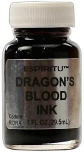 Espiritu's Dragon's Blood Ink for Spells, Rituals, Book of Shadows!