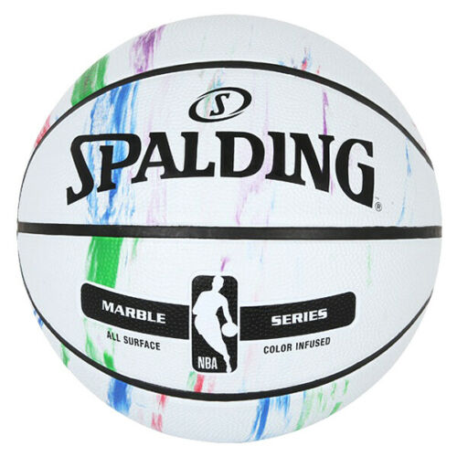 Spalding Silver NBA Outdoor Sports Match Practicing Official Size 7 Basketball