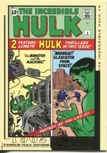 HULK FILM /& COMIC CARDS FAMOUS HULK COVERS         FC01 TO FC45    CHOOSE