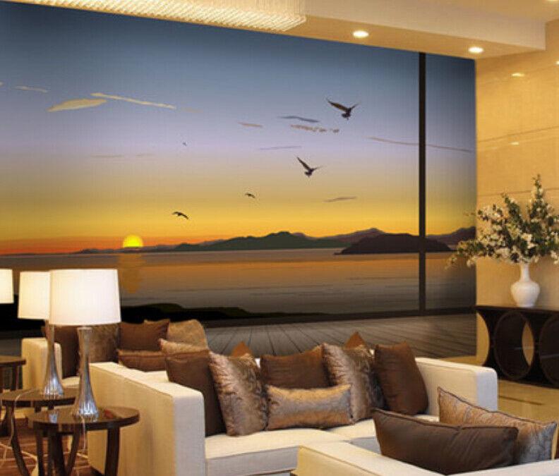 3D Himmel Meerwasser 46 Tapete Tapeten Mauer Foto Familie Tapete Wandgemälde DE