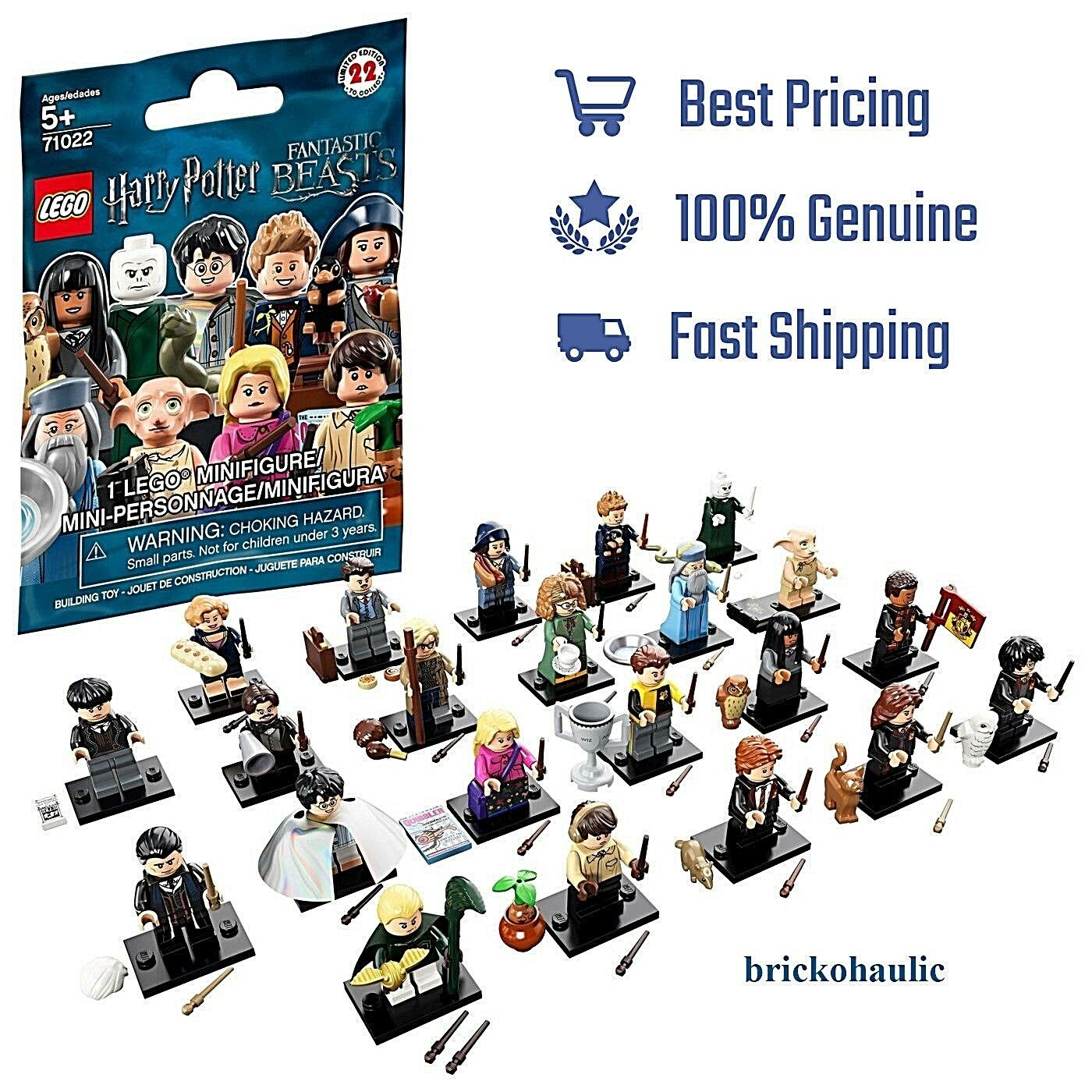 IN HAND Lego Harry Potter Fantastic Beasts Series 1 Minifigures 71022