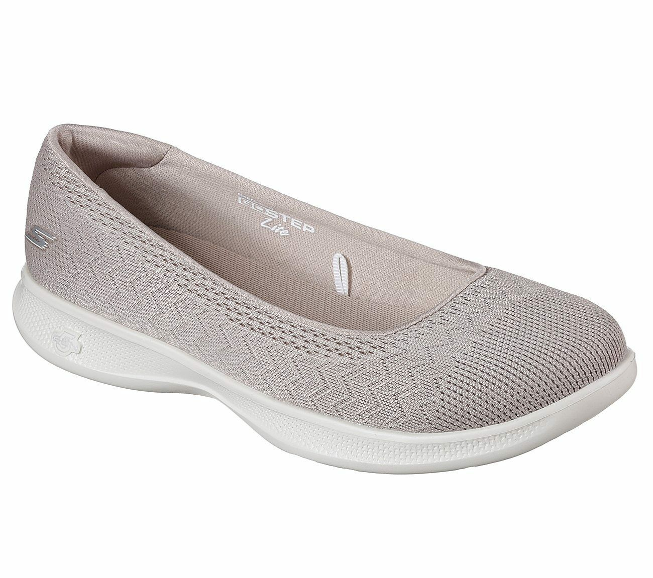 New Womens Skechers Go Step Lite Solace shoes Style 14476 Taupe 76H dr