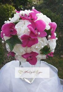 Brautstrauss Orchidee Pink Hochzeit Brautstrauss Neu Exklusiv