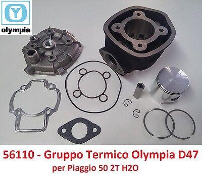 5 ANGOL 030306 GRUPPO TERMICO TNT 50CC D.40 DERBI GP1 OPEN 50 2T LC SP.12 GHISA